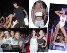 Rus hiphop şarkıcısı Egor Kreed, Antalya'nın Kemer ilçesinde bulunan Club Aura'da konser verdi.